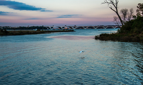 Dusk on the Potomac by Geoff Livingston