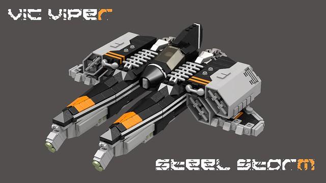 Vic Viper Steel Storm