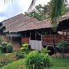 Sabah longhouse where I'll stay overnight on Thursday.
