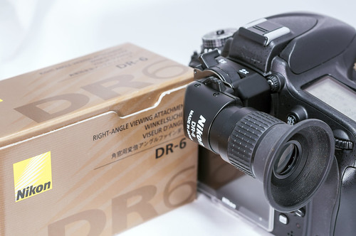 "Nikon RIGHT-AGGLE VIEWING ATTACHMENT ""DR-6"""