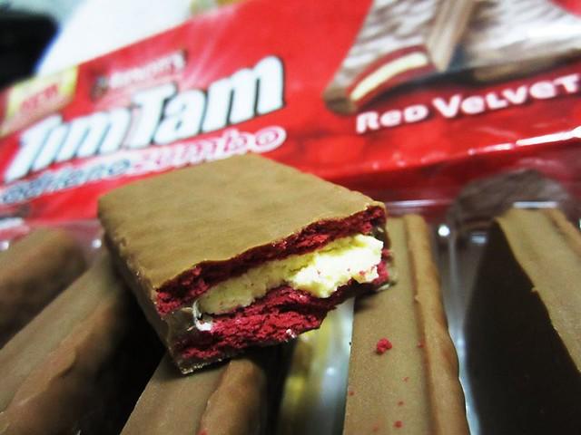 Adriano Zumbo's red velvet Tim Tam