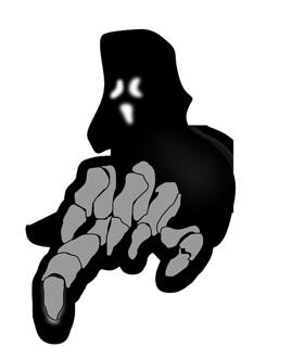 fantasma encapuchado, historias de fantasmas