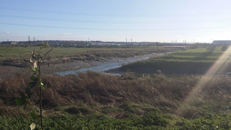 Confluence of the Cray and Darent #LondonLOOP #sh