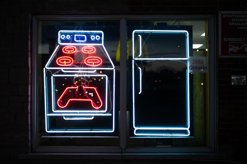 neon washer