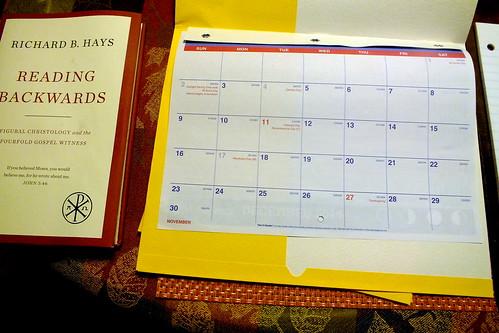 November 2014 Diary