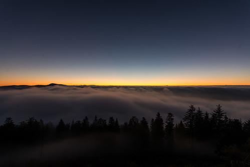 deutschland nikon nebel sonnenaufgang schwarzwald blauen badenwürttemberg belchen schliengen hochblauen d7100