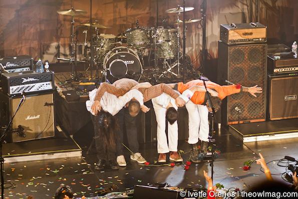 Weezer @ Belasco Theater, LA 11/7/14