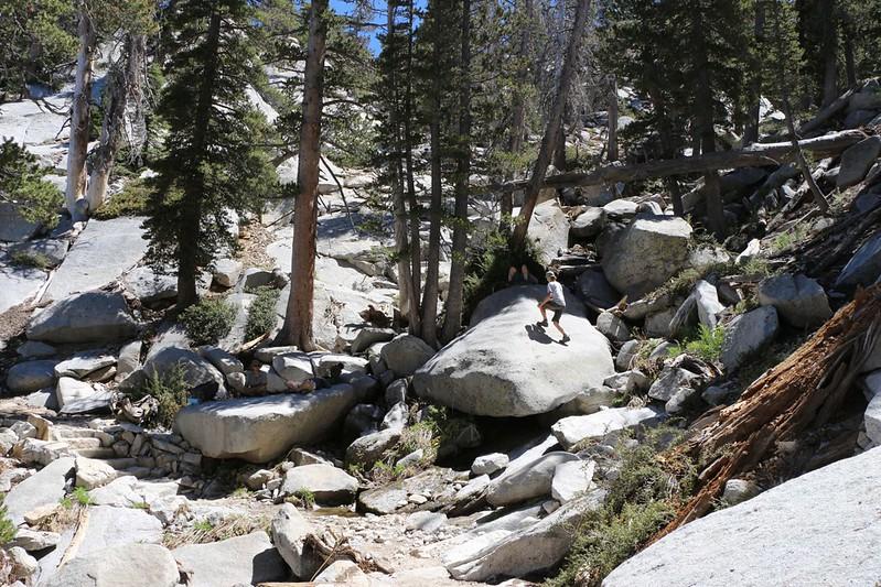 Water crossing on the Fuller Ridge Trail