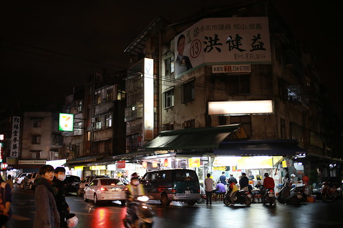 台湾・台北の夜市のスナップ写真