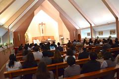 Comunidad Universitaria UCSC inicia celebración del Mes de María