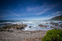 muzzpix-nz posted a photo:Facebook      500px    WebsiteThe western coastline of the lower north island of NZ at the Kapiti district ... also looking out towards Kapiti Island by the way . This stretch of coastline is on the main highway north from Wellington  , the capital city .