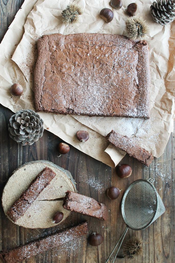 Fondant chocolat marron recette