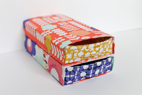 Geometric Bliss Pull Out Boxes