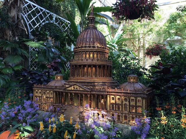 Capitol Building replica, US Botanic Garden Conservatory