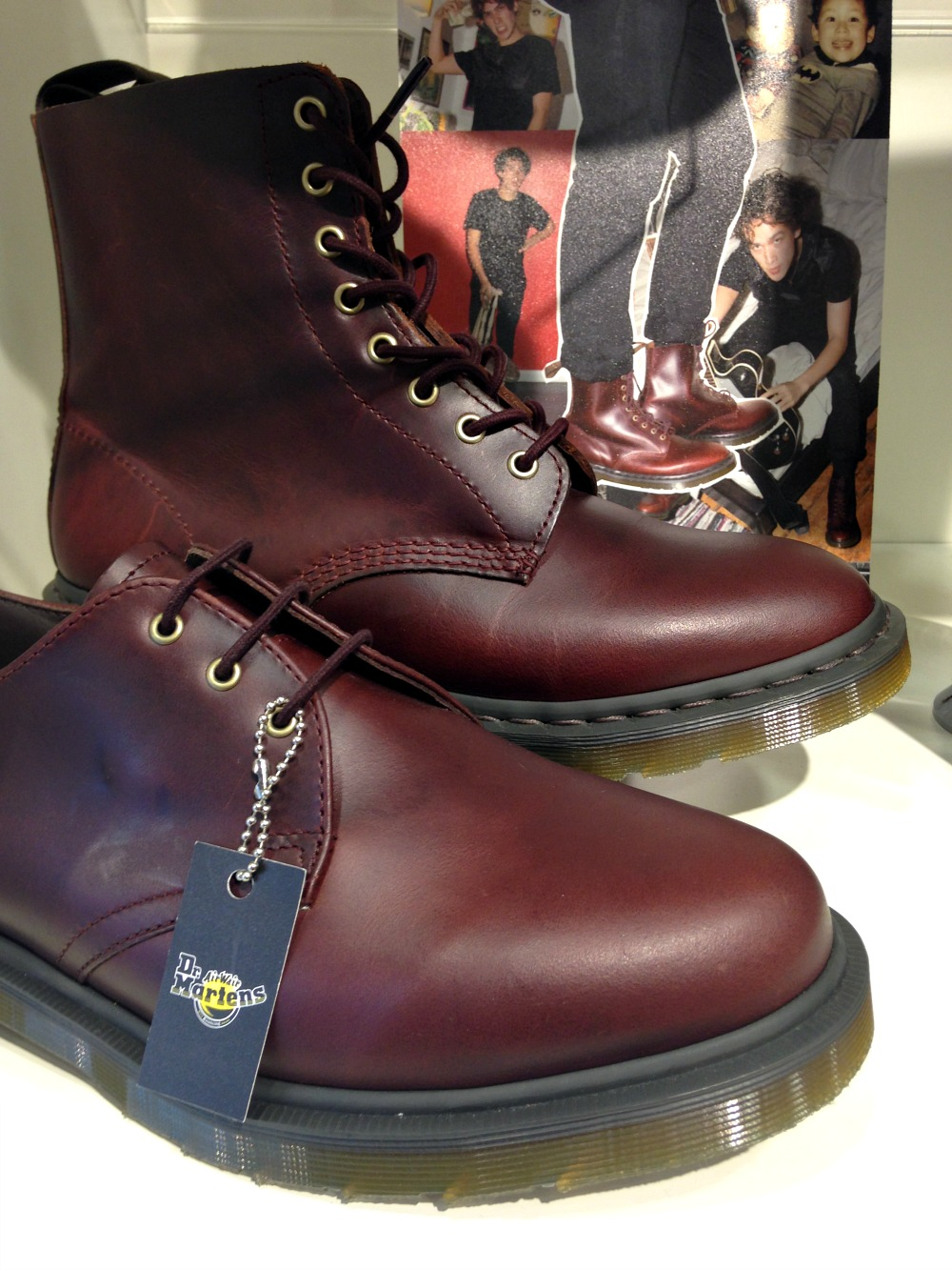 Dr Martens boots in Broadmead Bristol