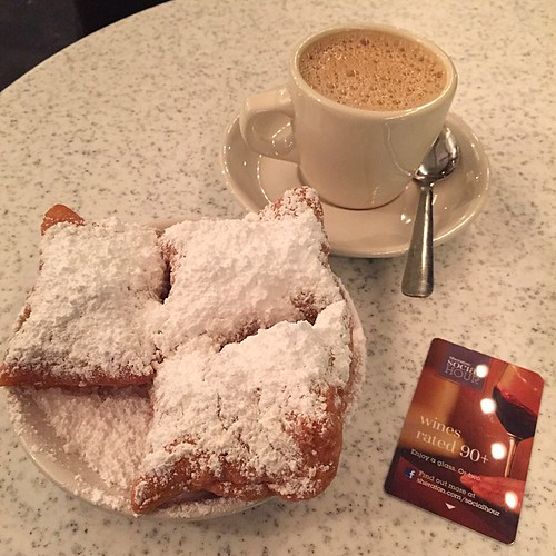 Cafe Du Mondeのベニエ