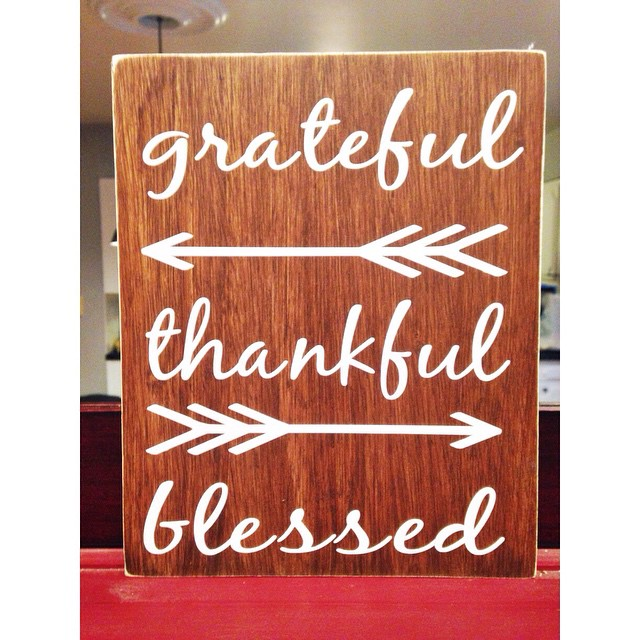 New little thanksgiving sign from Jane.com