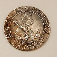 THALER 1896. FERENCZ - JOZSEF - I. POLAND. Coin Token