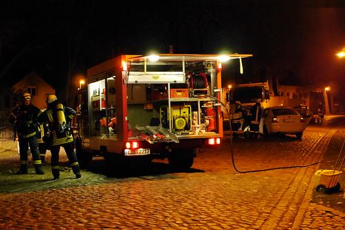 Einsatzübung Feuerwehr Ragow #3