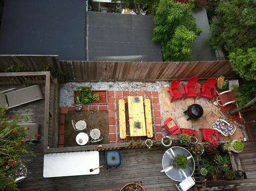 Back Patio in Potrero Hill San Francisco