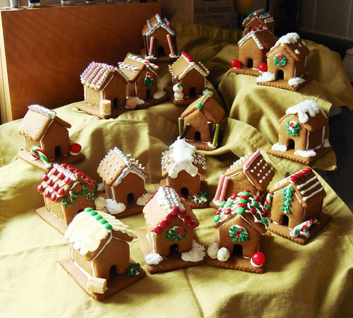 Mini Gingerbread Village