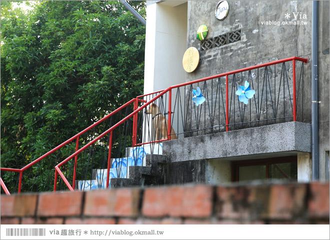 【台中霧峰景點】台中光復新村~可愛的造型椅林立、讓老眷村重新充滿新活力!15