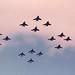 Lightnings and Phantoms RAF Leuchars by Jetex61