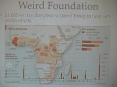 Fruit Bats? Club Foundation Donates For Ebola Relief
