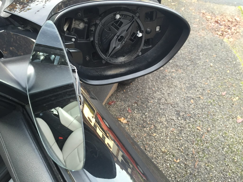 Removal Of Door Mirror Glass And Replacement Of Mirror Caps Z4