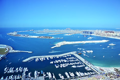 port, sea, ocean, bay, dock, artificial island, aerial photography, coast, marina,