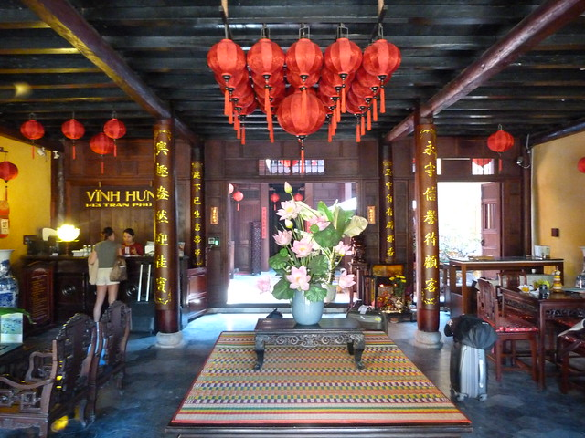 Lobby del Vinh Hung Heritage Hotel 1 (Hoi An, Vietnam)