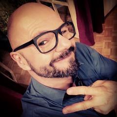 #Buehnenselfie an der #Hauptprobe. Die Brille ist eine freundliche Leihgabe von http://www.optic-clavadetscher.ch