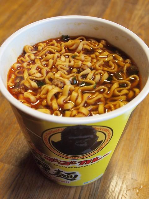 2014.11.20 黒咖喱麺