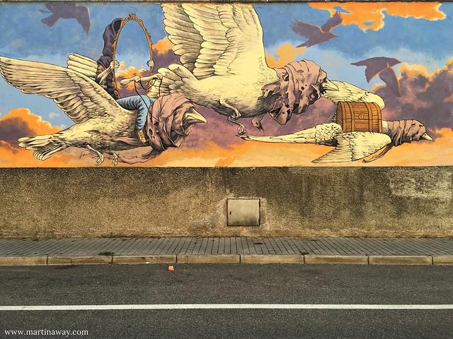 Street art by Qbic