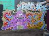 Sype graffiti, Trellick Tower