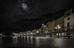 Moonlit Piazza