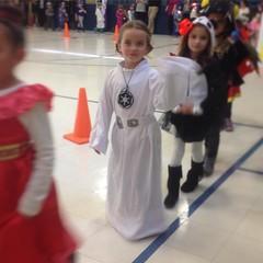 #halloween #parade!  #princess #leiaorgana of #alderaan, #galaticempire. #princessleia #leia #starwars