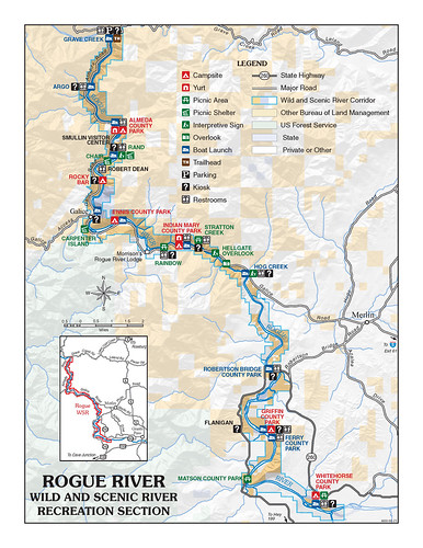 Rogue River Wild and Scenic River Recreation Section
