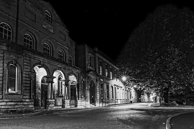 Bridgwater At Night, Canon EOS 6D, Sigma 24-35mm f/2 DG HSM   A