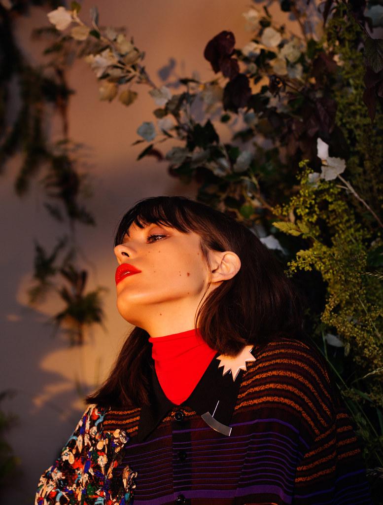 Стэйси Мартин — Фотосессия для «InStyle» UK 2016 – 3