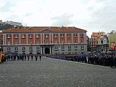 Swearing-in-ceremony of cadets of Military School of Nunziatella in Naples