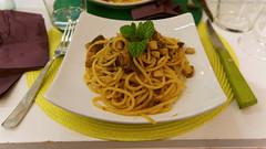 Spaghetti Pesce Spada e Menta
