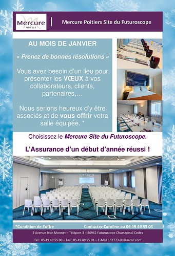 OFFRE VOEUX 2017 - Hôtel MERCURE SITE DU FUTUROSCOPE