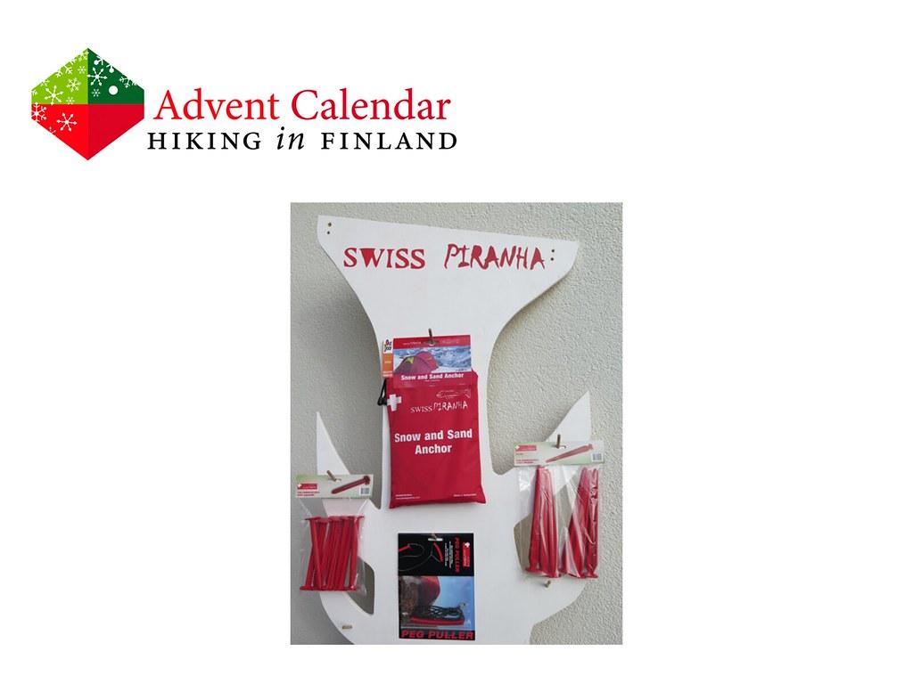 Advent Calendar Swiss Piranha Pegs