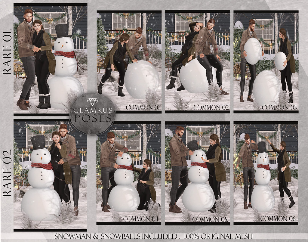 Glamrus . Building A Snow Man With You Key - SecondLifeHub.com