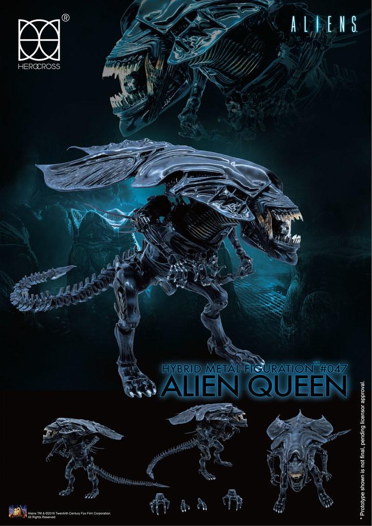 HEROCROSS【異形女皇】異形2 Alien Queen HMF#047