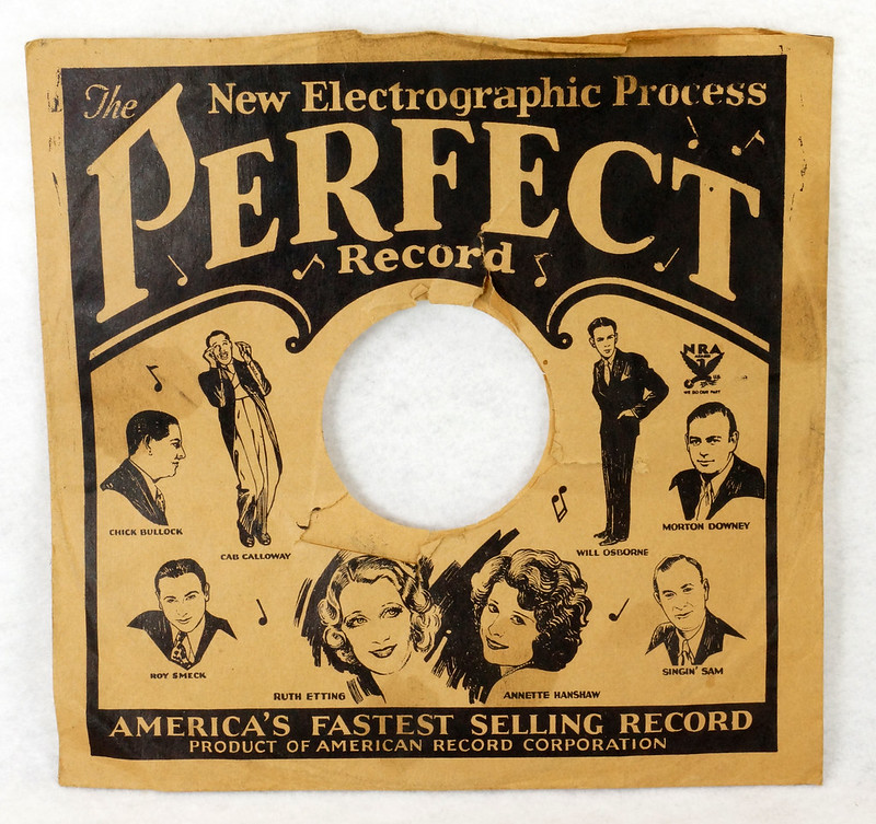 RD14635 3 Vintage PERFECT 78 RPM Album Sleeves American Record Corporation DSC06740