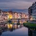 El riu Onyar. Girona (Catalunya) by jepiswell