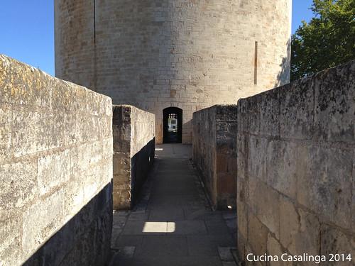 Aigues-Mortes Tour de Constance Eingang