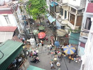 Una calle de la zona antigua